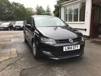2014 VOLKSWAGEN POLO 1.2 MATCH EDITION 5d 69 BHP £8999.00