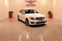 USED 2011 61 MERCEDES-BENZ C CLASS 2.1 C220 CDI BLUEEFFICIENCY SPORT ED125 4d 170 BHP + EXCELLENT CONDITION IN/OUT+