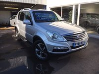 USED 2016 66 SSANGYONG REXTON 2.2 EX 5d AUTO 176 BHP 4WD