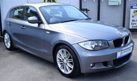 USED 2010 10 BMW 1 SERIES 2.0 120D M SPORT 5d 175 BHP * 1/2 LEATHER - BLUETOOTH *