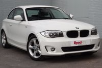 USED 2012 12 BMW 1 SERIES 2.0 118D SE 2d 141 BHP ALPINE WHITE + LOW MILEAGE