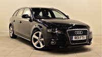 USED 2011 11 AUDI A4 2.0 AVANT TDI S LINE SPECIAL EDITION 5d AUTO 141 BHP + 2 PREV OWNERS + FULL SERVICE HISTORY +