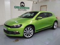2011 VOLKSWAGEN SCIROCCO 2.0 TDI CR GT DSG 3dr £8994.00