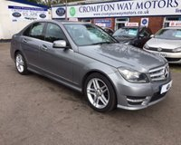 USED 2012 62 MERCEDES-BENZ C CLASS 2.1 C200 CDI BLUEEFFICIENCY AMG SPORT 4d 135 BHP 0% FINANCE AVAILABLE PLEASE CALL 01204 317705