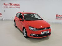 USED 2015 64 VOLKSWAGEN POLO 1.0 SE 5d 60 BHP