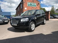 USED 2009 09 LAND ROVER FREELANDER 2.2 TD4 E XS 5d 159 BHP This vehicle comes fully serviced, with a 6 MONTHS renewable warranty,12 Months M.O.T, Fully prepared ready for 12 months hassle free motoring.