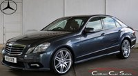 USED 2011 11 MERCEDES-BENZ E CLASS E350CDi BlueEFFICIENCY SPORT SALOON AUTO 265 BHP
