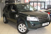 USED 2011 11 LAND ROVER FREELANDER 2.2 TD4 GS 5d 150 BHP BLUETOOTH + FULL LAND ROVER SERVICE HISTORY + RECENT TIMING BELT CHANGE + CRUISE CONTROL + 17 INCH ALLOYS + REAR PARKING SENSORS + ELECTRIC WINDOWS