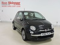 USED 2014 64 FIAT 500 1.2 Cult 3D