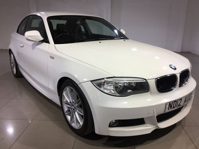 View our 2012 12 BMW 1 SERIES 2.0 118D M SPORT 2d 141 BHP