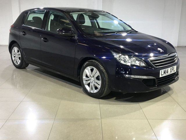 View our 2014 14 PEUGEOT 308 1.6 BLUE HDI ACTIVE 5d 120 BHP