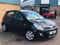 USED 2010 59 HYUNDAI I20 1.2 EDITION 5d 77 BHP A Great Family car with great spec inc alloy wheels,air con and much more...