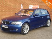 USED 2007 57 BMW 1 SERIES 2.0 120D M SPORT 5d 175 BHP LE MANS BLUE