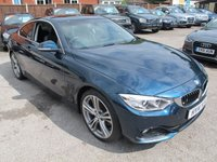 USED 2014 14 BMW 4 SERIES 2.0 420D SPORT 2d AUTO 181 BHP + FACTORY SUNROOF