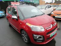 USED 2014 14 CITROEN C3 PICASSO 1.6 PICASSO SELECTION HDI 5d 91 BHP DIESEL 5 DOOR MPV JUST ARRIVED
