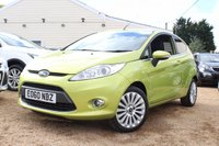 USED 2010 60 FORD FIESTA 1.4 TITANIUM 3d 96 BHP Bluetooth, Cruise Control & more