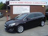 USED 2014 14 VAUXHALL ASTRA 2.0 ELITE CDTI S/S 5d 163 BHP FROM £159 A MONTH WITH £869 DEPOSIT OR PART EXCHANGE, ZERO DEPOSIT FINANCE AVAILABLE PLEASE ASK FOR DETAILS