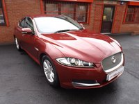 2014 JAGUAR XF 2.2 D LUXURY 4d AUTO 200 BHP £13489.00