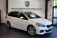 USED 2015 65 BMW 2 SERIES 2.0 218D M SPORT GRAN TOURER 5DR 7 SEATS AUTO 148 BHP + FULL LEATHER INTERIOR + 1 OWNER FROM NEW + SATELLITE NAVIGATION + BLUETOOTH + HEATED SPORT SEATS + PANORAMIC ROOF + REVERSE CAMERA + DAB RADIO + HARMAN/KARDON SPEAKERS + CRUISE CONTROL + 7 SEATER + PARKING SENSORS + 18 INCH ALLOY WHEELS +