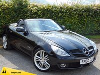 USED 2010 60 MERCEDES-BENZ SLK 1.8 SLK200 KOMPRESSOR GRAND EDITION 2d AUTOMATIC * FULL HEATED LEATHER INTERIOR & HEADRESTS * 128 POINT AA INSPECTED*