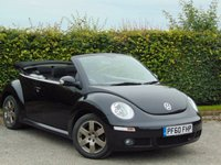 USED 2010 60 VOLKSWAGEN BEETLE 1.9 CABRIOLET TDI 2d * FULL SERVICE HISTORY * ONE OWNER FROM NEW *