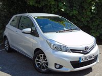 USED 2014 TOYOTA YARIS 1.0 VVT-I ICON PLUS 3d  ECONOMICAL FAMILY OR FIRST CAR