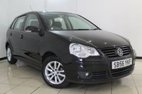 USED 2007 56 VOLKSWAGEN POLO 1.4 S 5DR AUTOMATIC 74 BHP SEREVICE HISTORY + AIR CONDITIONING + RADIO/CD + ELECTRIC WINDOWS + 14 INCH ALLOY WHEELS