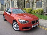 2013 BMW 1 SERIES 1.6 116I SPORT 3d 135 BHP £10495.00