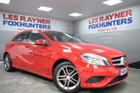 USED 2014 14 MERCEDES-BENZ A CLASS 1.5 A180 CDI BLUEEFFICIENCY SPORT 5d 109 BHP Full Mercedes Service History , Half Leather , 1 Owner from new
