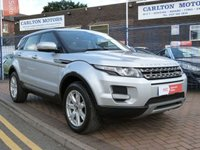 USED 2013 13 LAND ROVER RANGE ROVER EVOQUE 2.2 ED4 PURE 5d 150 BHP ONE OWNER ~ FULL LAND ROVER SERVICE HISTORY ~ HEATED LEATHER ~ BLUETOOTH ~ CRUISE CONTROL ~