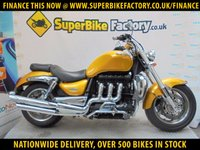 USED 2007 07 TRIUMPH ROCKET 111  GOOD & BAD CREDIT EXCEPTED, OVER 500+ BIKES