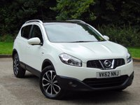 USED 2012 62 NISSAN QASHQAI 1.5 N-TEC PLUS DCI 5d 110 BHP * 128 POINT AA INSPECTED *