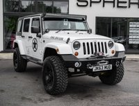 USED 2013 63 JEEP WRANGLER 2.8 SAHARA UNLIMITED CRD 4d 197 BHP