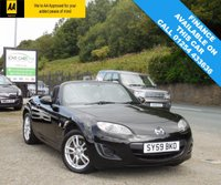USED 2009 59 MAZDA MX-5 1.8 I SE 2d 125 BHP BEAUTIFUL MAZDA MX-5 IN BLACK, WITH FULL SERVICE HISTORY AND A LONG MOT UNTIL 07/2018