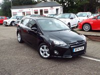 USED 2014 14 FORD FOCUS 1.6 ZETEC ECONETIC TDCI 5d 104 BHP Great equiptment level