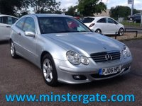 2005 MERCEDES-BENZ C CLASS 2.1 C220 CDI SE SPORTS 3d AUTO 148 BHP * 58000 MILES, IMMACULATE * £3990.00