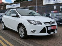 USED 2012 12 FORD FOCUS 1.0 TITANIUM 5d 124 BHP £30 TAX ~ CRUISE CONTROL ~ DAB RADIO ~ BLUETOOTH ~ CLIMATE CONTROL ~ SONY SOUNDS ~ ALLOYS