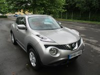 USED 2015 65 NISSAN JUKE 1.6 VISIA 5d 94 BHP WAS £10,495 NOW ONLY £9,495 !!