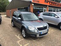 2011 SKODA YETI 2.0 ELEGANCE TDI CR 5d 138 BHP IN GREY WITH FULL LEATHER INTERIOR £8690.00