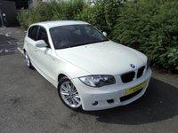 2010 BMW 1 SERIES 2.0 116D M SPORT 5d 114 BHP £8488.00