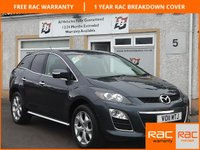 USED 2011 11 MAZDA CX-7 2.2 D SPORT TECH 5d 173 BHP 5 Service Stamps, Leather Interior , Bluetooth ,Parking Sensors
