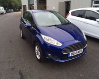 USED 2014 14 FORD FIESTA 1.2 ZETEC 5d 81 BHP THIS VEHICLE IS AT SITE 2 - TO VIEW CALL US ON 01903 323333