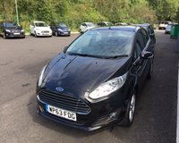 USED 2013 63 FORD FIESTA 1.2 ZETEC 5d 81 BHP THIS VEHICLE IS AT SITE 2 - TO VIEW CALL US ON 01903 323333