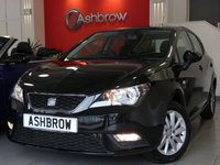 USED 2013 13 SEAT IBIZA 1.4 SE 5d 85 BHP AUX IN FOR IPOD / USB / MP3, AUDI REMOTE STALK BEHIND STEERING WHEEL, LEATHER STEERING WHEEL, DIS TRIP COMPUTER, ELECTRIC FRONT WINDOWS, FRONT FOG LIGHTS, A/C, 15 IN 10 SPOKE ALLOYS, SERVICE HISTORY