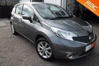 USED 2014 14 NISSAN NOTE 1.2 ACENTA DIG-S 5d AUTO 98 BHP ONE OWNER,11,000 MILES