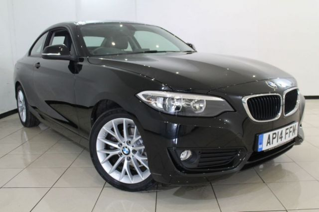 View our 2014 14 BMW 2 SERIES 2.0 218D SE 2DR 141 BHP