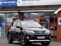 USED 2015 15 TOYOTA RAV4 2.0 D-4D INVINCIBLE AWD 5dr * Leather & Sat Nav * *ONLY 9.9% APR with FREE Servicing*