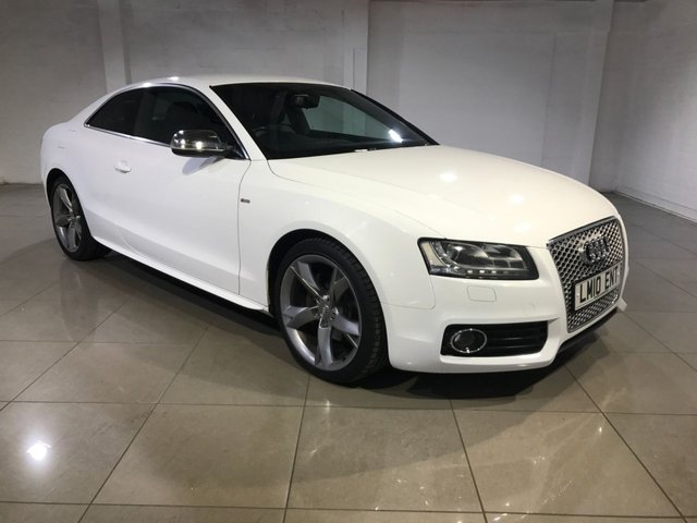 View our 2010 10 AUDI A5 2.7 TDI S LINE SPECIAL EDITION 2d AUTO 187 BHP