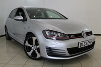 USED 2014 63 VOLKSWAGEN GOLF 2.0 GTI DSG 5DR AUTOMATIC 218 BHP VW SERVICE HISTORY + CLIMATE CONTROL + PARKING SENSOR + BLUETOOTH + CRUISE CONTROL + MULTI FUNCTION WHEEL + DAB RADIO + 18 INCH ALLOY WHEELS