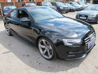 USED 2013 13 AUDI A5 2.0 TFSI BLACK EDITION 2d 208 BHP + LOW MILES + GREAT SPEC